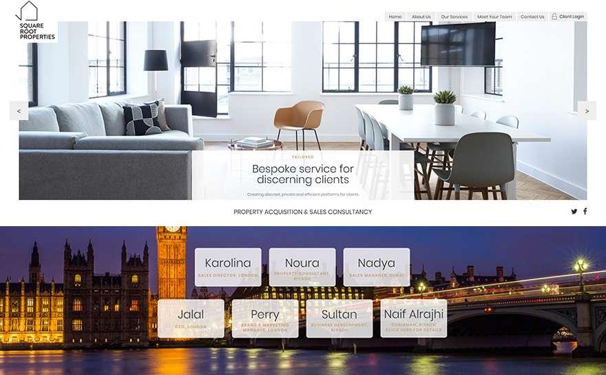 Floating-Shelves.com Web Design Portfolio