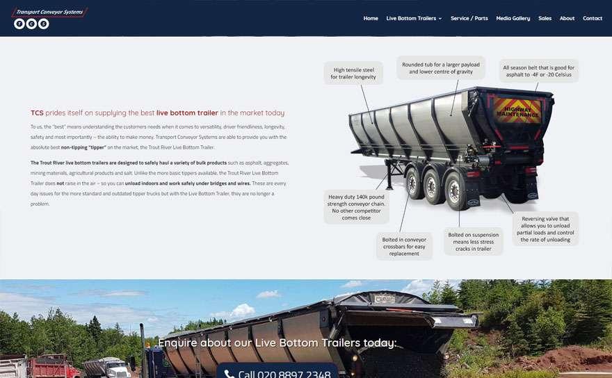 ColdeastMansion.com Web Design Portfolio