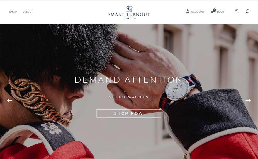 SmartTurnout.com Web Design Portfolio